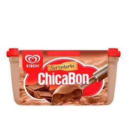 Sorvete Kibon Chicabon - Pote - 1,3 L - Cód.11447