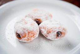 Trio de Mini Donuts com Nutella