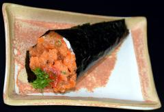 2 por 1: Temaki Salmão Spicy