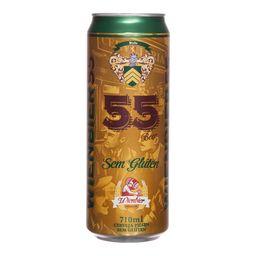 Cerveja Wienbier 55 sem glúten Pilsen 710 mL