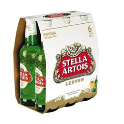 Pack Cerveja Stella Artois Long Neck 275 mL