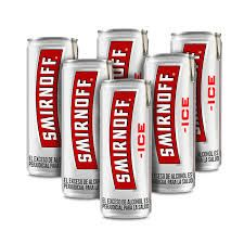 Pack de 6 Smirnoff Ice Red Lata 269 mL