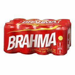 Pack Cerveja Brahma Lata 350 mL