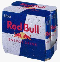 Pack de 6 Energético Red Bull 250 mL