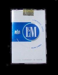 Cigarro Lm Blue Label Und