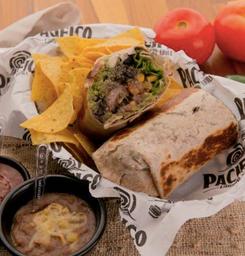 Burrito Clássico Guacamole