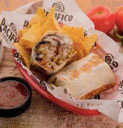 Burrito Healthy Mex Guacamole
