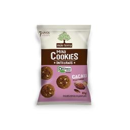 Mãe Terra Cookies Cacau E Castanha Orgânico