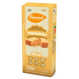 Flormel Paçoca Castanhas Coberta Com Chocolate Zero