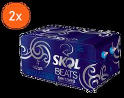 2x Pack Skol Beats Senses Lata 269 mL