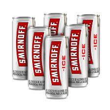 4x Pack Smirnoff Ice Lata 269 mL