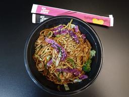 Yakisoba com Carne