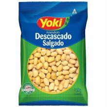 Yoki Amendoim Salgado Sem Pele Pacote