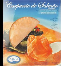 Damm Salmão Congelado Carpaccio Fatiado