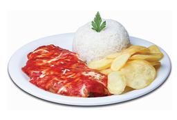 Parma Chips de Carne - 120g + Refri Lata + Sobremesa