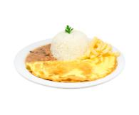 Omelete - 250g + Refri Lata + Sobremesa