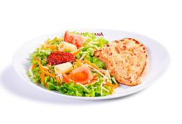 Com Salada - Filé de Frango