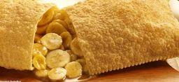 Pastel De Banana Com Canela - 20cm