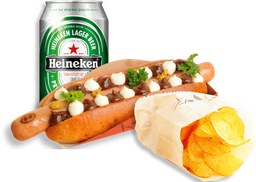 Combo Hot Pork + Heineken