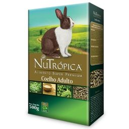 NuTrópica Coelho Adulto (500g)