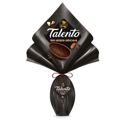 Ovo de Páscoa Garoto Talento Meio Amargo 350 g