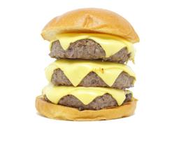 Triple Cheeseburger - 447