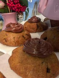 Cookie Leite Ninho com Nutella