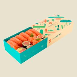 Petite Box Zero Carb Salmão Com Arroz De Couve-Flor