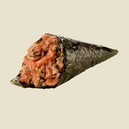 ZC - Temaki zero carb de shimeji com salmão - 105025