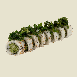 Uramaki Veggie De Pepino Com Espinafre - 8 Unidades