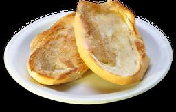 Pão na Chapa com Requeijão