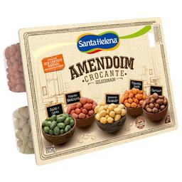 Amendoim Crocante Mix Santa Helena Aperitivo 360 g