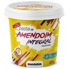Pasta De Amendoim Integral Mandubim 450 g