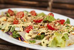 Salada Verde Com Molho Ranch