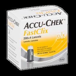 Accu-Chek Fastclix 204Lancetas