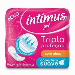 Absorvente Intimus Ultra Proteção Cobertura Suave sem Abas 8 U