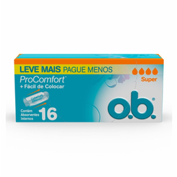 Abssorvente Ob Super Pro Comfort Com 16 Und Leve+Pague-