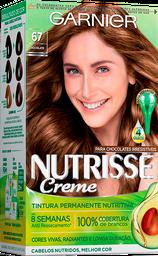 Coloração Nutrisse Creme 67 Chocolate Paloma