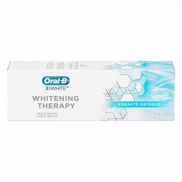 Creme Dental Oral B 3D Whitening Therapy Esmalte Defense