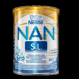 Fórmula infantil NAN SL sem lactose 400g
