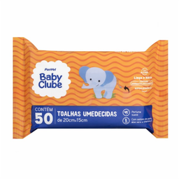 Lenços Umedecidos Panvel Baby Clube 50 Und
