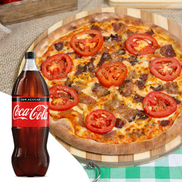 Bacon em Lascas + Coca-Cola 2L