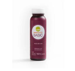 Suco de uva prensado a frio
