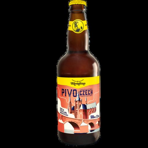 Cerveja Blondine Pivo Czech Garrafa 500 mL