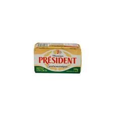 Manteiga Président Com Sal Tablete