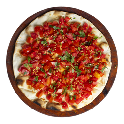 Pizza de Bruschetta