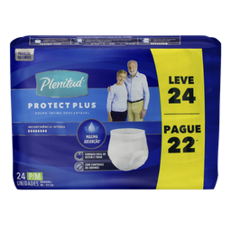 Plenitud Roupa Intima Protect Plus Unissex Tam P M L 24 P 22