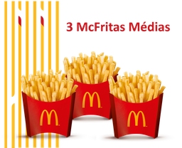 3 McFritas Médias