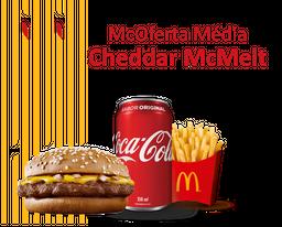 McOferta Média Cheddar McMelt