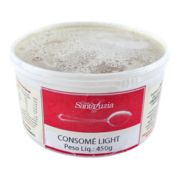 Consome Santa Luzia Light Congelado 450 g
